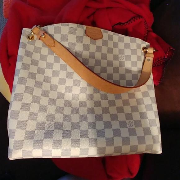 1a53061168c114 Louis Vuitton Handbags - Authentic Louis Vuitton Graceful PM Damier Azur